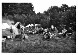 1963 Zeltlager in Gerolstein