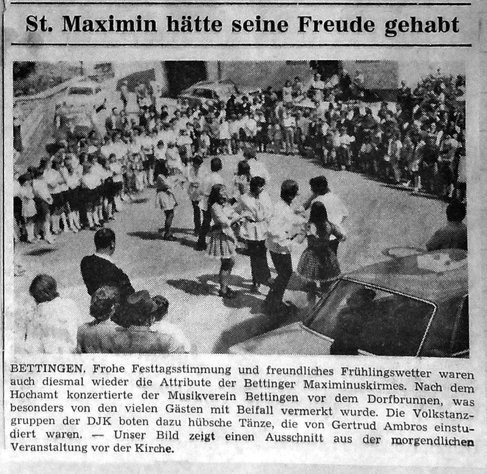 KirmesZeitungsartikel_1970
